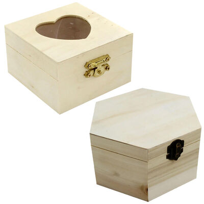Pyrography Tool and Assorted Wooden Box Bundle image number 4