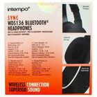 Intempo Wireless Superior Sound Bluetooth Headphones image number 4