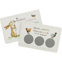 Guess How Much I Love You Scratch and Match Card Game - Pack of 10