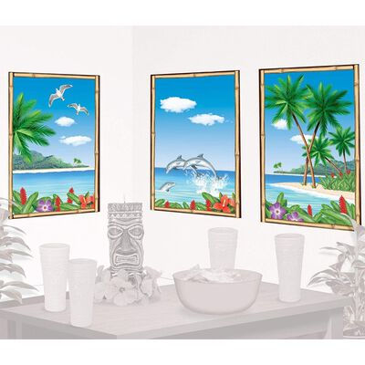 Tropical Paradise View Scene Setter image number 2