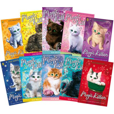 Magic Kitten: 10 Book Collection image number 1