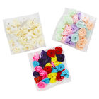 Colourful Rose Embellishments - 3 Pack image number 1