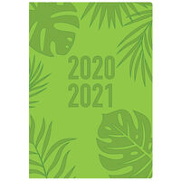 A5 Green Week to View 2020-21 Academic Diary