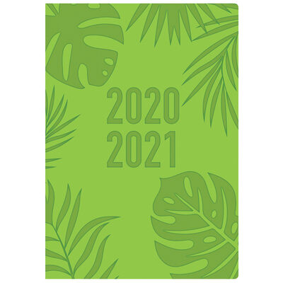 A5 Green Week to View 2020-21 Academic Diary image number 1