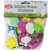 Glitter Foam Stickers