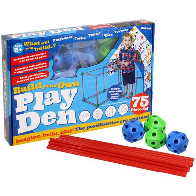 Build Your Own Den - 75 Piece Kit image number 1
