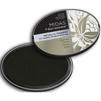Midas by Spectrum Noir Metallic Pigment Inkpad - Platinum