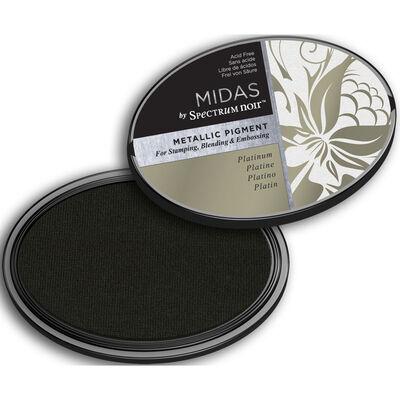 Midas by Spectrum Noir Metallic Pigment Inkpad - Platinum image number 2
