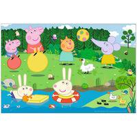 Peppa Pig Holiday Fun 60 Piece Jigsaw Puzzle