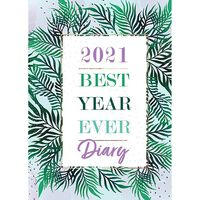 A5 Best Year Ever 2021 Week To View Diary