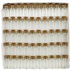 Mini Craft Glass Bottles - 50 Pack image number 2