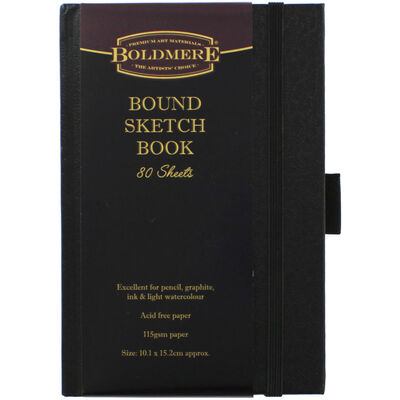 Pocket Case Bound Sketch Book image number 1