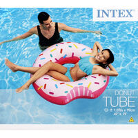 Intex Inflatable Doughnut Tube Pool Float