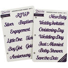 Diesire Essentials Metal Die Bundle - Wedding and Baby image number 2