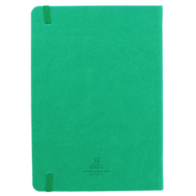 A5 Case Bound PU Zodiac Virgo Lined Journal image number 3