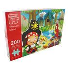 Treasure Island 200 Piece Jigsaw Puzzle image number 1
