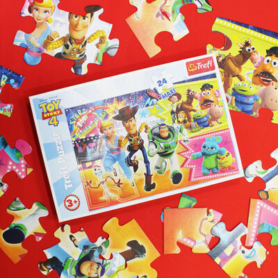 Toy Story 4 24 Piece Maxi Jigsaw Puzzle image number 3