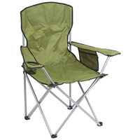 Summit Quebec Folding Chair Green