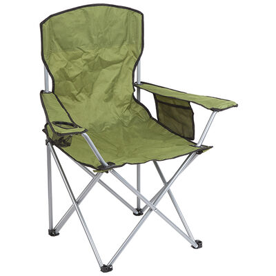 Summit Quebec Folding Chair Green image number 1