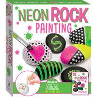 Neon Rock Painting