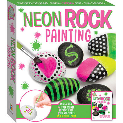 Neon Rock Painting image number 1