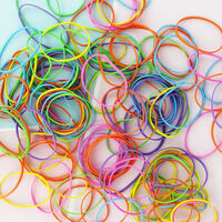 Assorted Neon Elastic Bands