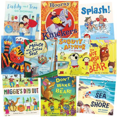 Laughs and Giggles: 10 Kids Picture Books Bundle image number 1