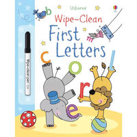 Wipe-Clean: First Letters