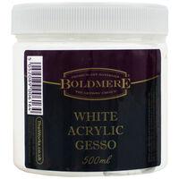 White Acrylic Gesso - 500ml