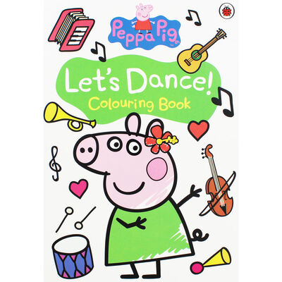 Peppa Pig: Lets Dance! Colouring Book image number 1