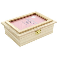 Wooden Memories Photo Frame Box
