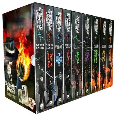Skulduggery Pleasant: 9 Book Collection image number 1