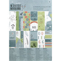 Winter Woodland A4 Ultimate Die-Cut and Paper Pack