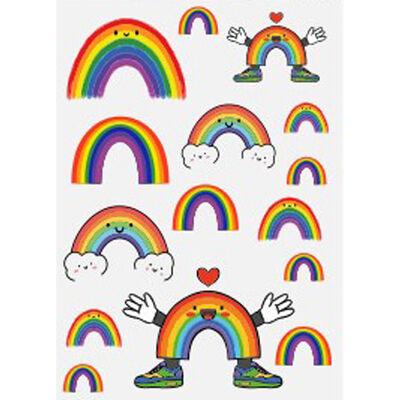 Rainbow Window Stickers Assorted image number 1