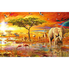 Savanna Pool 1000 Piece Gold-Foiled Premium Jigsaw Puzzle image number 2