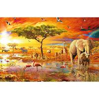 Savanna Pool 1000 Piece Gold-Foiled Premium Jigsaw Puzzle