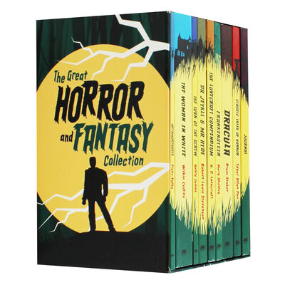 The Great Horror and Fantasy Collection: 9 Book Box Set image number 1