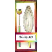 Deluxe Iridescent Massage Set