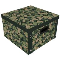 Camo Green Collapsible Storage Box