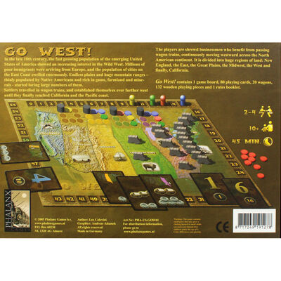 Go West Strategy Board Game image number 4
