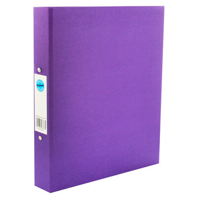A4 Purple Ring Binder File image number 1