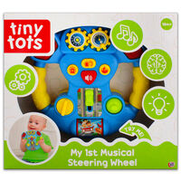 Tiny Tots: My 1st Musical Steering Wheel