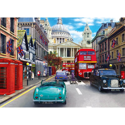 St Pauls Street 500 Piece Jigsaw Puzzle image number 2
