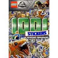 LEGO Jurassic World: 1001 Stickers Amazing Dinosaurs