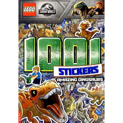 LEGO Jurassic World: 1001 Stickers Amazing Dinosaurs image number 1