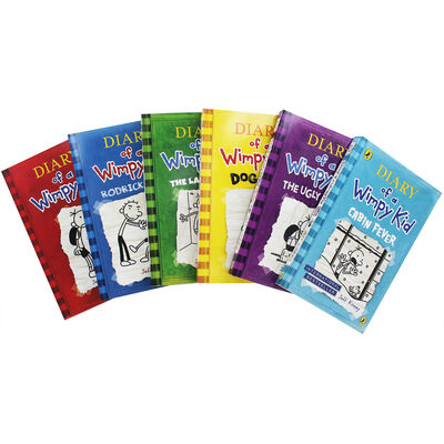 Diary of a Wimpy Kid: 6 Book Collection image number 2