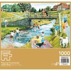 Playing Poohsticks 1000 Piece Jigsaw Puzzle image number 3