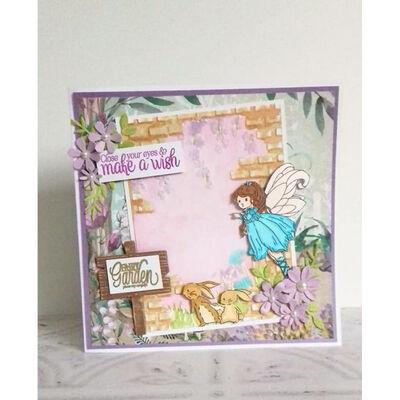 Natures Garden Fairy Garden 3D Embossing Folder - Hidden Garden image number 3
