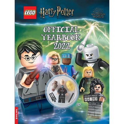 LEGO Harry Potter: Official Yearbook 2022 image number 1