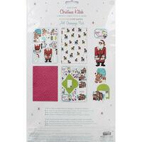 A4 Love Santa Decoupage Pack